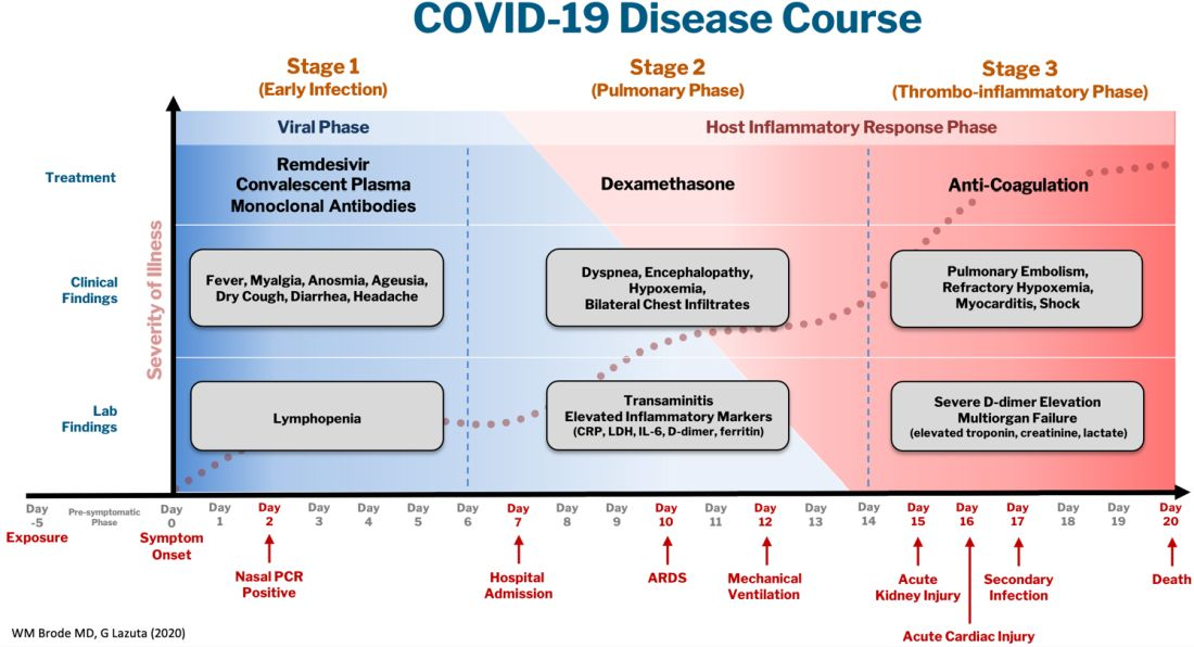 COVID-19 Disease Course