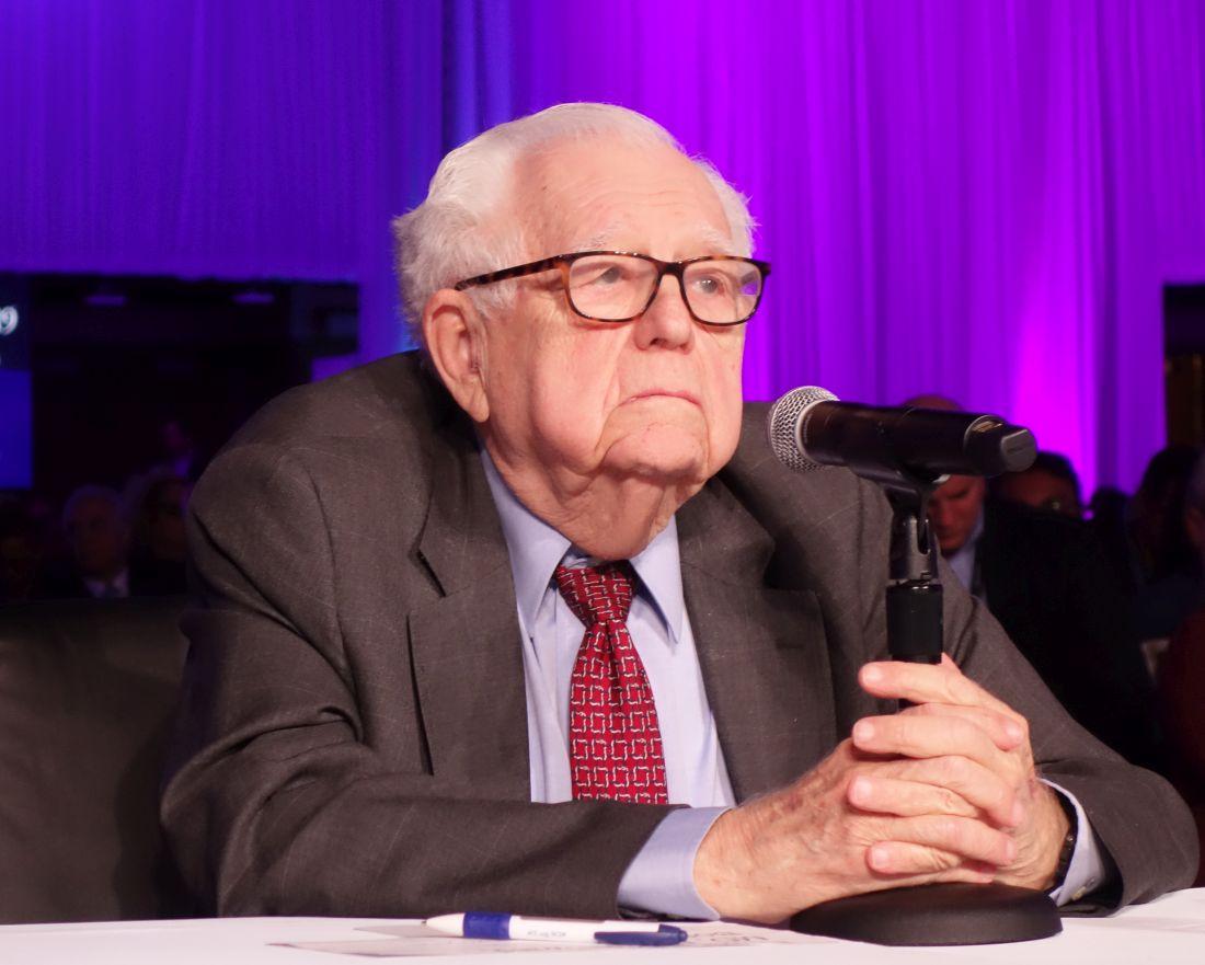 Dr. Eugene Braunwald of harvard medical school