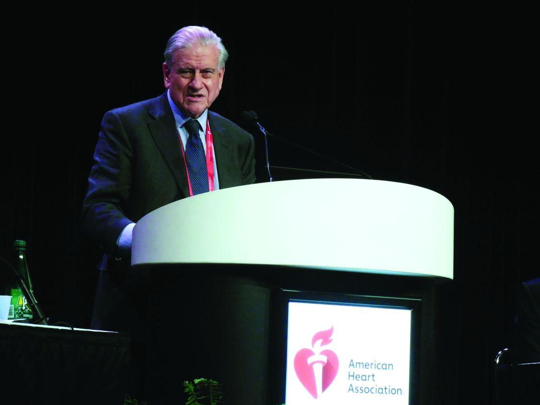 Dr. Valentin Fuster, professor of medicine, Icahn Medical School at Mount Sinai, New York