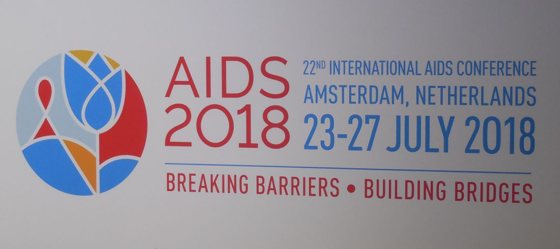 AIDS meeting sign