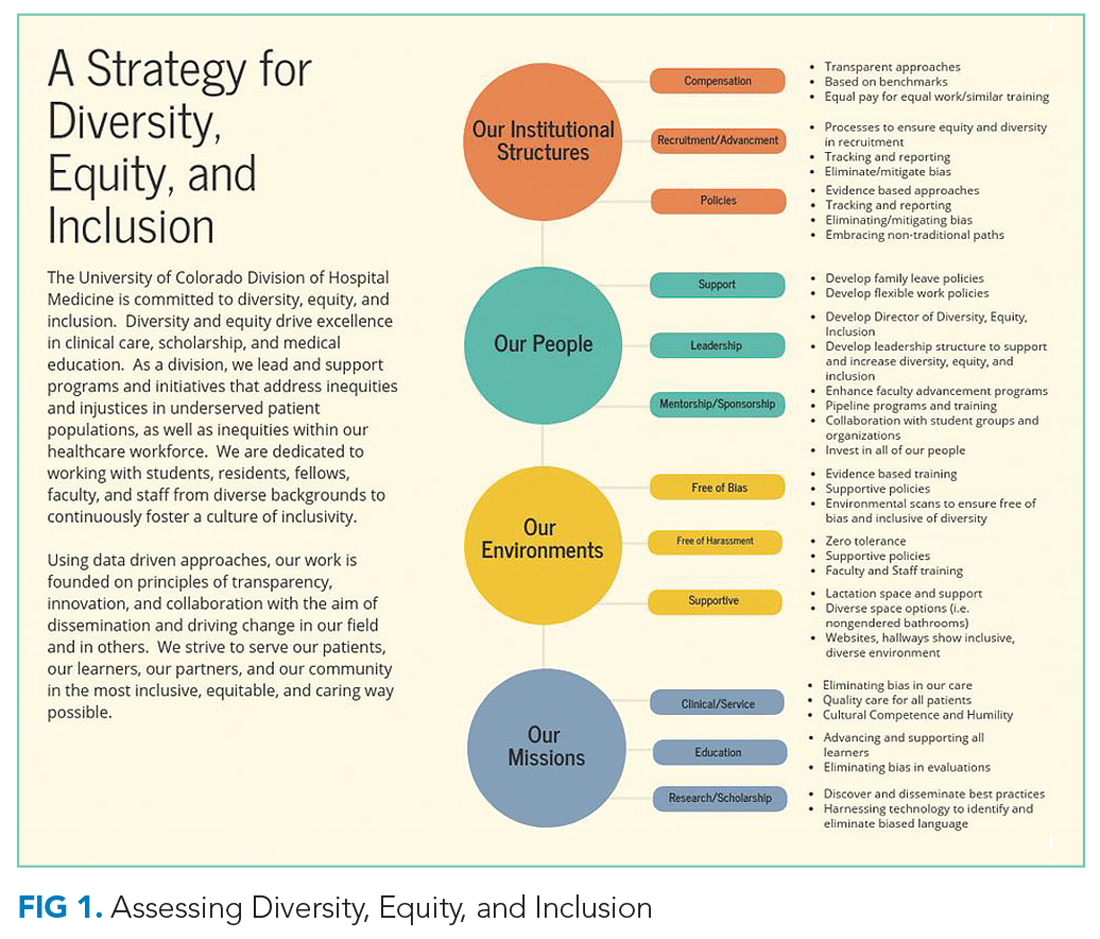Assessing Diversity, Equity, and Inclusion