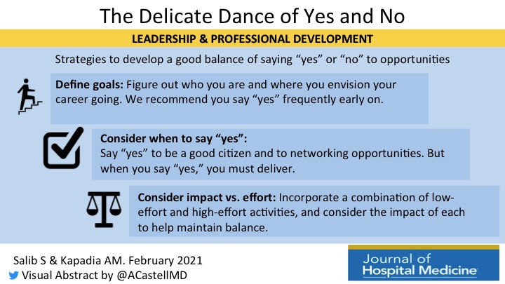 Leadership & Professional Development: The Delicate Dance of Yes and No