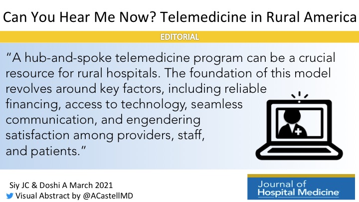 Can You Hear Me Now? Telemedicine in Rural America