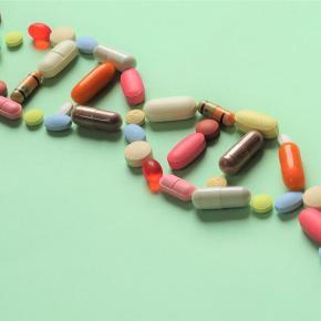 Pills in shape of genes
