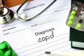 """A notepad that says, """"Diagnosis COPD"""""""