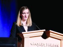 Dr. Lauren Theilen, maternal-fetal medicine researcher at the University of Utah