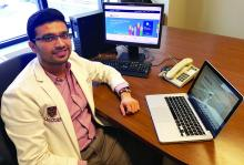 Dr. Sahil Koppikar of Queen's University, Kingston, Ontario.
