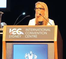 Dr. Emily Forward of the University of Sydney