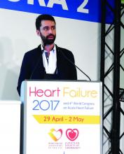 Dr. João B. Augusto,a cardiologist at Fernando da Fonseca Hospital in Amadora, Portugal