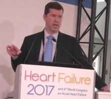 Dr. G. Michael Felker professor of medicine at Duke University in Durham, N.C.