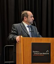 Dr. Yaseen M. Arabi, chairman, intensive care department, King Saud bin Abdulaziz University for Health Sciences, Riyadh, Saudi Arabia