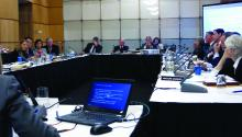The MedPAC meeting addressed Medicare Part B drug reference pricing.