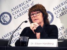 Dr. Eileen M. Handberg, research professor of medicine, University of Florida, Gainesville
