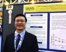 Dr. Yuanjie Mao of the University of Arkansas for Medical Sciences, Little Rock