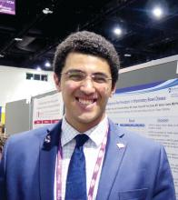 Dr. Mohamed Gad, internal medicine resident at Cleveland Clinic