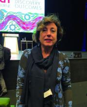 Dr. Elena Santagostino, from the Hemophilia and Thrombosis Center at Ospedale Maggiore Policlinico in Milan