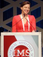Katja Weisel, MD, of University Medical Center Hamburg-Eppendorf in Hamburg, Germany