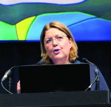 Dr. Regina Folster-Holst, professor of dermatology at the University of Kiel (Germany)