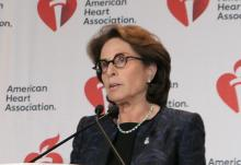 Dr. Judith Hochman, professor of medicine and senior associate dean for clinical research at New York University
