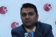 Dr. Nilanjan Ghosh, Levine Cancer Institute, Atrium Health, in Charlotte, North Carolina.