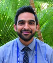 Dr. Jawad Bilal, rheumatology fellow at the University of Arizona, Tucson.