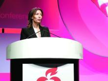 Dr. M. Cecilia Bahit, chief of cardiology, INECO Foundation, Rosario, Argentina