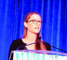 Dr. Jessica Sprague, a pediatric dermatologist at the University of California, San Diego, and Rady Children's Hospital