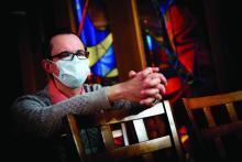 The Rev. Michael Mercier director of spiritual care for Rhode Island Hospital, Hasbro Children's Hospital, Miriam Hospital, and Newport Hospital.