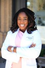 Dr. Khaalisha Ajala is a hospitalist and associate site director for education at Grady Memorial Hospital in Atlanta