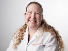 Dr. Jenny Baenziger, assistant professor of clinical medicine and pediatrics at Indiana University, Indianapolis