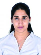 Dr. Kavya Bharathidasan, a recent medical graduate from India with an interest in public health and community research