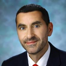 Dr. Umberto Campia, a cardiologist, vascular specialist, and member of the Cardio-Oncology group at Brigham and Women's Hospital in Boston.