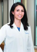 Dr. Angela Castellanos, pediatric hospitalist, Tufts Medical Center, Boston