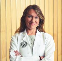 Dr. Lilia Cervantes, associate professor in the department of medicine at Denver Health Medical Center and the University of Colorado