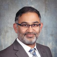 Dr. Romil Chadha, interim chief of the division of hospital medicine and medical director of Physician Information Technology Services, University of Kentucky's UK Healthcare, Lexington