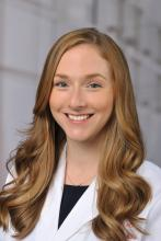 Dr. Megan Conroy, chief pulmonary and critical care fellow, The Ohio State University, Columbus