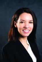 Dr. Diana Curras-Martin, internal medicine resident at Hackensack Meridian Jersey Shore University Medical Center