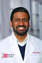 Dr. Vignesh Doraiswamy, assistant professor of medicine and pediatrics and a med-peds hospitalist at The Ohio State University and Nationwide Children's Hospital, Columbus
