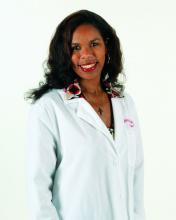 Dr. Tiffany Egbe, a hospitalist in internal medicine at Christus Good Shepherd (Longview and Marshall, Texas