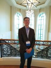 Dr. Justin Finch of the University of Connecticut, Farmington.