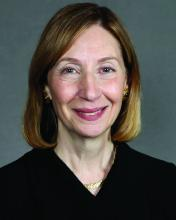 Dr. Ellen Gravallese, president of the American College of Rheumatology and chief of the division of rheumatology, inflammation, and immunity at Brigham and Women's Hospital in Boston