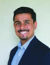 Sachin Gupta, MD, a pulmonologist and critical care specialist at Alameda Health System in Oakland, Calif.