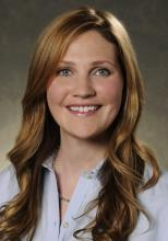 Dr. Elizabeth Harry, assistant program director of the internal medicine residency program and director of wellness at Brigham and Women's Hospital
