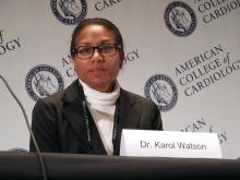 Dr.. Karol E. Watson, professor of medicine and director of the Women's Cardiovascular Health Center at the University of California, Los Angeles