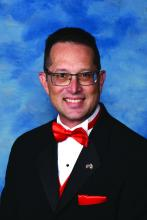 Dr. Josh Lenchus, a hospitalist at Jackson Memorial Hospital, Miami