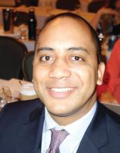Dr. Benjamin Harris, an ob.gyn. resident at Duke University, Durham, N.C.