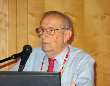 Dr. Stanley A. Plotkin, chair of the steering committee for the Global Pertussis Initiative.