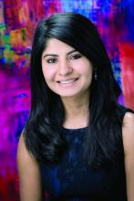 Dr. Neha Sharma, a chief hospitalist at the Sierra Campus of The Hospitals of Providence, El Paso, Tex.