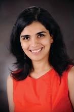 Dr. Lonika Sood, a hospitalist based at Aurora Baycare Medical Center, Green Bay, Wis.