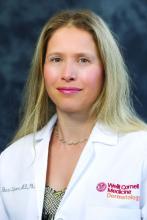 Dr. Shari Lipner, assistant professor, dermatology, Weill Cornell Medicine, New York